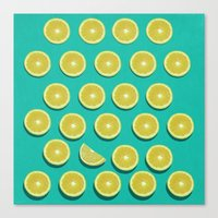 fruit Canvas Prints featuring fruit  by mark ashkenazi