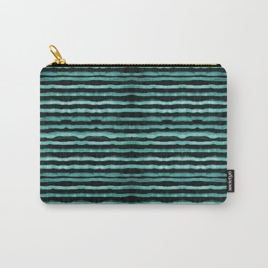 Neon stripes Carry-All Pouch