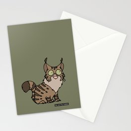 Cat - Maine coon Stationery Cards