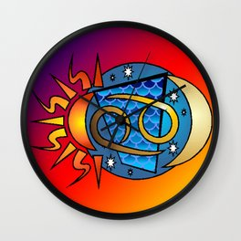 astrology,Cancer Wall Clock