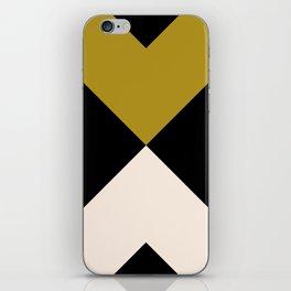 Minimal X Dark Olive iPhone Skin