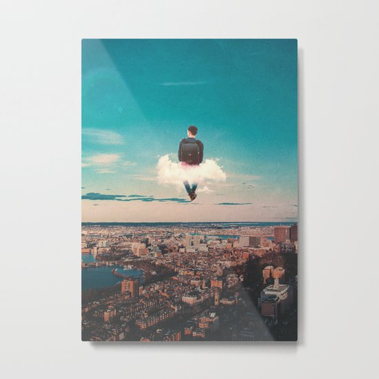High In The Sky Metal Print