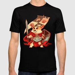 Corgi knight T-shirt