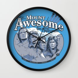 Mt. Awesome Wall Clock