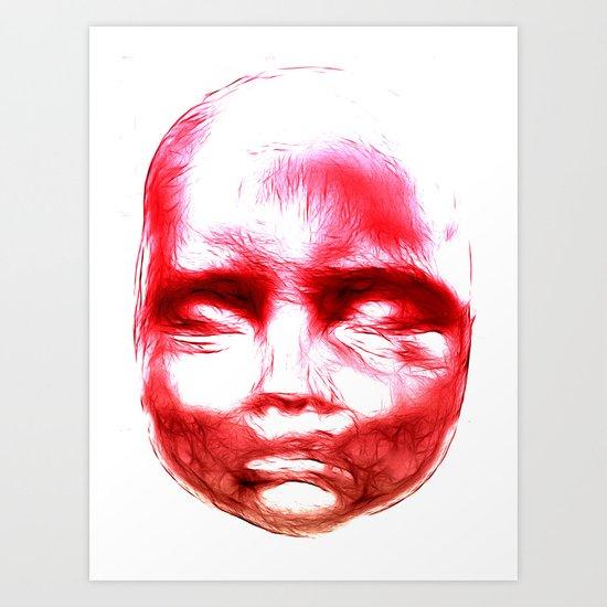 Baby Face Life Art Print