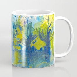 By the lake watercolor Coffee Mug