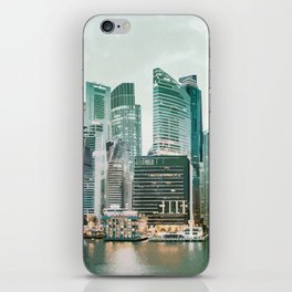 The City at Dusk iPhone Skin