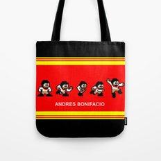 8-bit Andres 5 pose v2 Tote Bag