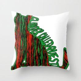 A CLOWDER CALLED QUEST Throw Pillow
