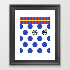POLKA DOTS FANTASY 3 Framed Art Print