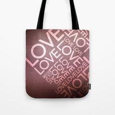 L O V E {I} Tote Bag
