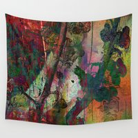 chinese Wall Tapestries featuring Chinese wall by dominiquelandau