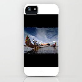 Snake Boats posing… 169 iPhone Case