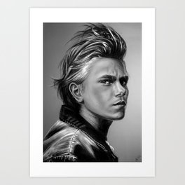 + The Wolf + Art Print