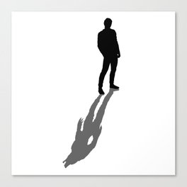 My Real Nature Is In My Shadow Canvas Print