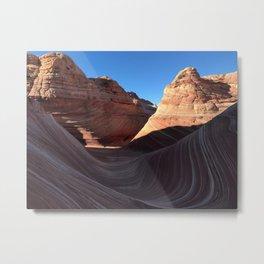 The Wave, Arizona Metal Print
