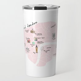 Great cities illustrated: London Travel Mug