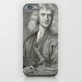 The Adolfo Stahl lectures in astronomy (1919) - Sir Isaac Newton iPhone Case