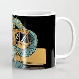 Excavator vs Anaconda Coffee Mug