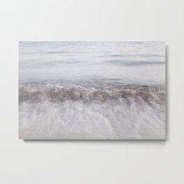 Ocean  waves- tranqulity of the summer island coast  Metal Print