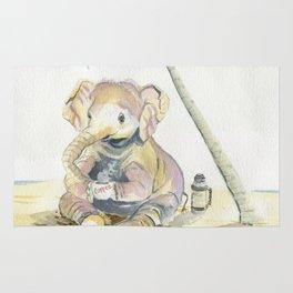 Dreamy Baby Elephant Rug