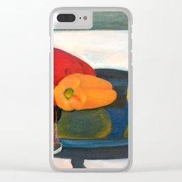 Bell Peppers Clear iPhone Case