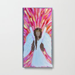 Angel Praise Metal Print