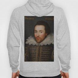 Vintage William Shakespeare Portrait Hoody