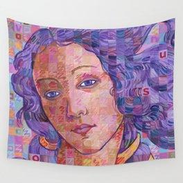 Variations On Botticelli's Venus – No. 2 Wall Tapestry