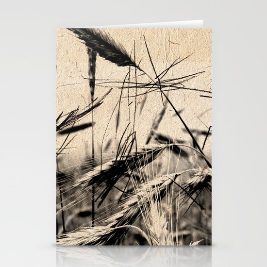 DRESSED GRAIN Stationery Cards