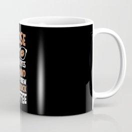 Close your Eyes Black Coffee Mug Coffee Mug