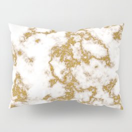 Luxury Gold Marble Pillow Sham