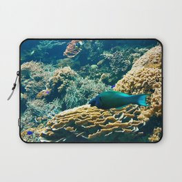 Coral Blue Laptop Sleeve