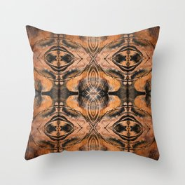 Sienna Ethnic Ink  Throw Pillow