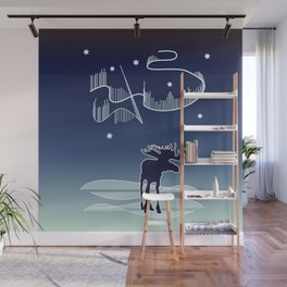 Northern Lights Wall Mural