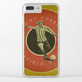 Sheffield United - Currie Clear iPhone Case