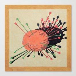 pincushion n. 3 Canvas Print