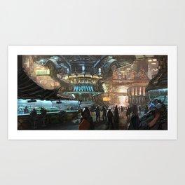 The Outskirts Art Print
