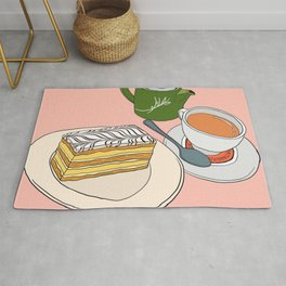 Aftenoon Cake Treat Rug