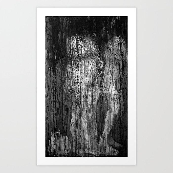 Magdalena II (un desdoblamiento) Art Print