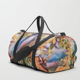 Psst...Lingering Silence Duffle Bag