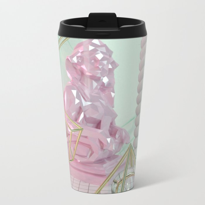 Soothing 3D Feeling Travel Mug