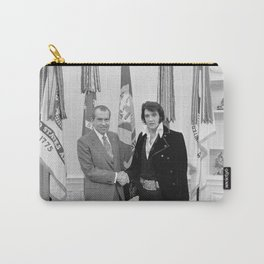 Elvis Meets Nixon Carry-All Pouch