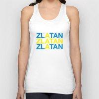zlatan Tank Tops featuring ZLATAN by eyesblau