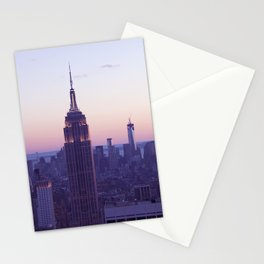 Top of the Rock - New York Skyline Stationery Cards