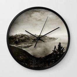 Vintage Switzerland Wall Clock