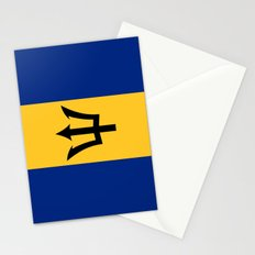 Flag Of Barbados Stationery Cards
