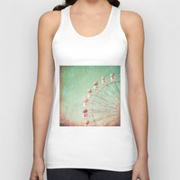 ferris wheel Tank Tops featuring Ferris Wheel by Caroline Mint