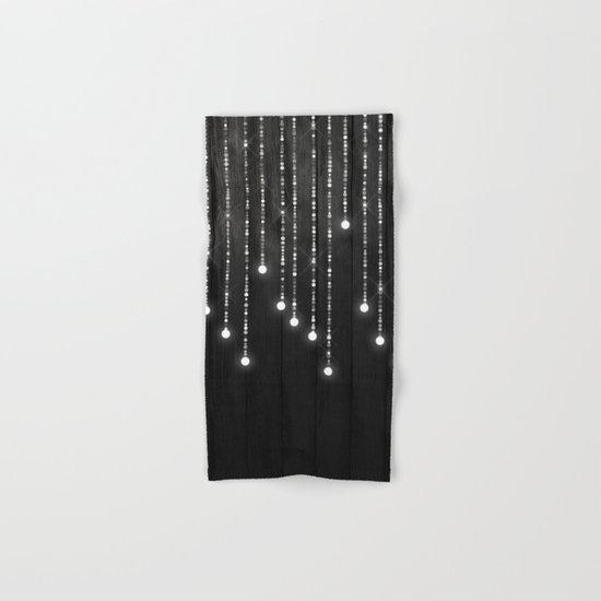 Fairy Lights on Wood 04 Hand & Bath Towel