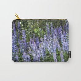 Lupins in Blue and Purple Carry-All Pouch